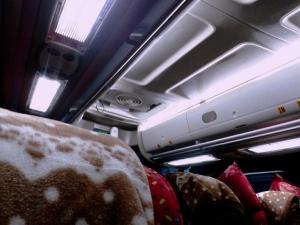 Interior PMTOH Jet Bus Medan - Bd Aceh (AK)