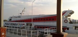 Kapal penyeberangan ekspress KM Rondo