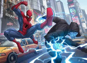 Sumber : http://patrickbrown.deviantart.com/art/The-Amazing-Spider-man-2-383445418