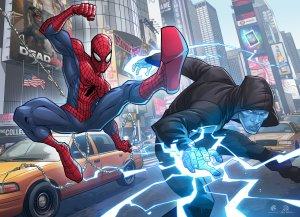 Sumber : http://patrickbrown.deviantart.com/art/The-Amazing-Spider-man-2-383445418