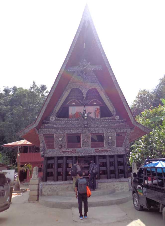 Museum adat Batak (dok. Hisyam)