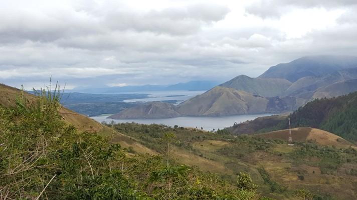 View dari jalur pendakian (dok. SB)