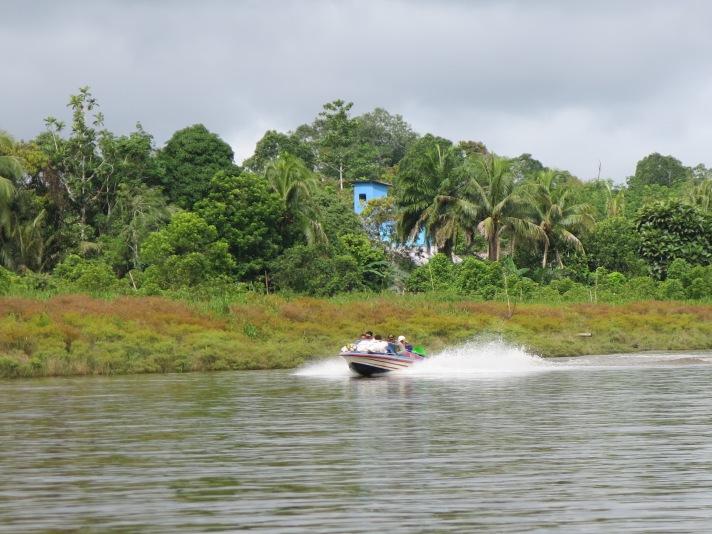 Membelah sungai